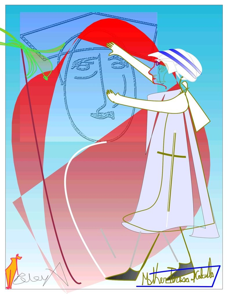 A Nun!  #mother-theresa stories
