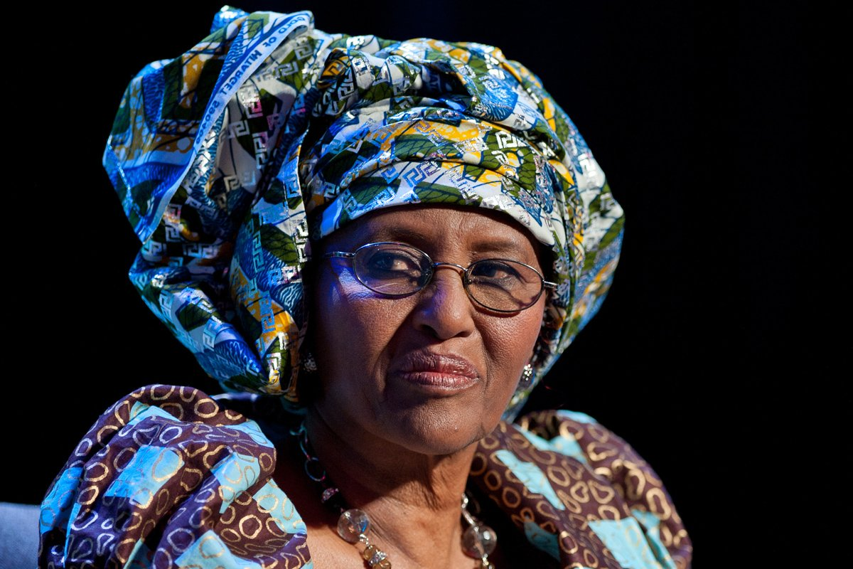 Hawa Abdi - one part Mother Teresa, one part Rambo. She inspires me. stories