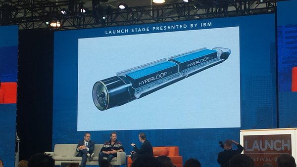 Hyperloop is going to change the world, from their presentation at LAUNCH stories