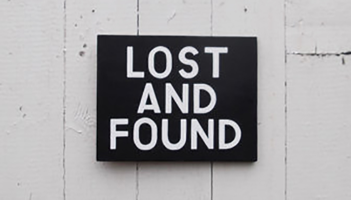 Lost and (never) found #where-is-it stories