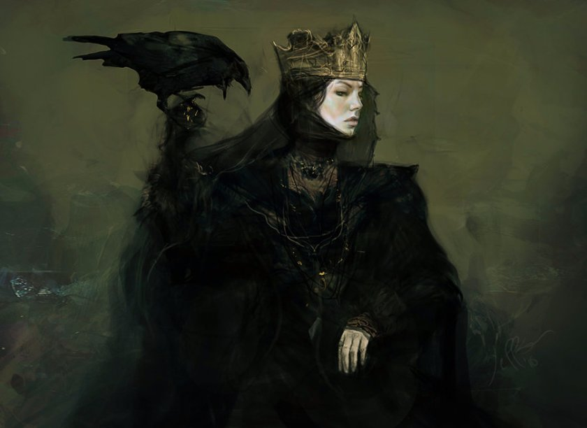 The Raven Queen stories