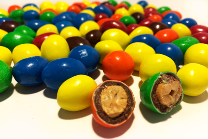 Peanut m&ms stories