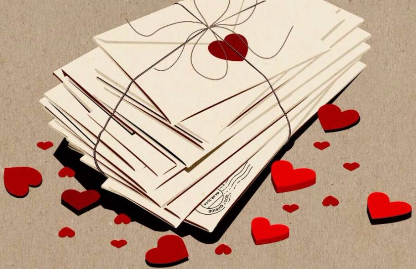 Literary Love Letters No. 1 series stories