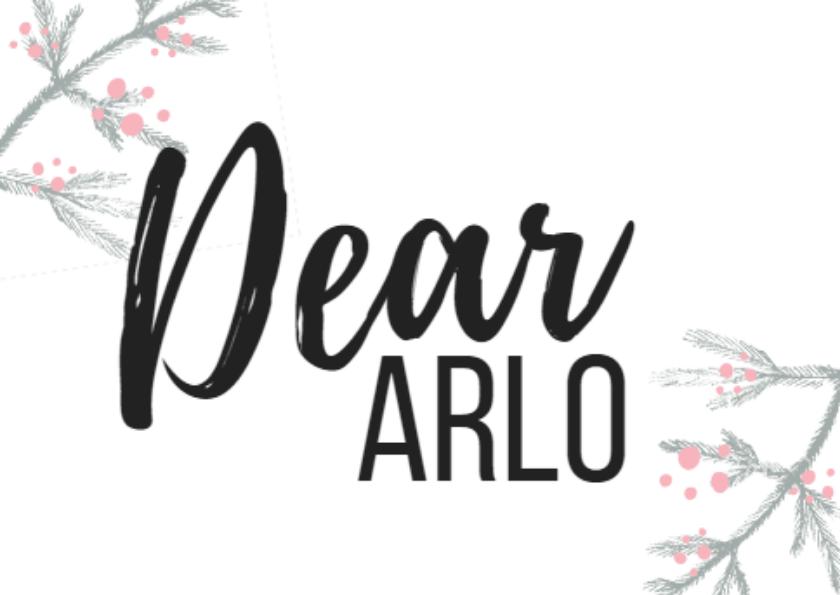 Dear Arlo, iwishyouknew stories